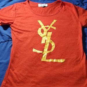 Ysl red shirt